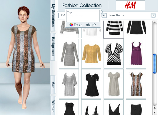 Virtual Clothes Online Design Website of the Day My Virtual