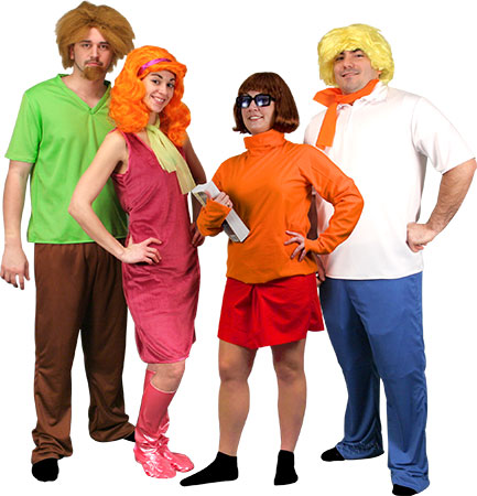 Scooby Doo Deluxe Daphne Adult Costume. Scooby Doo Fred Standard size ...