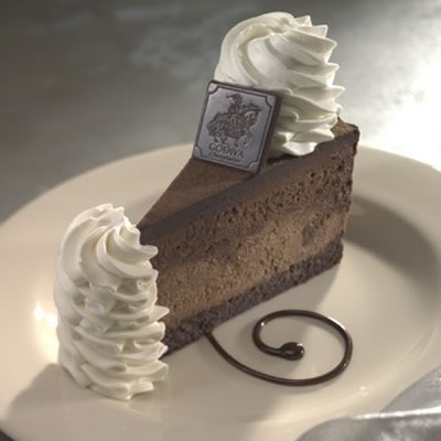 luxurious chocolate cheesecake