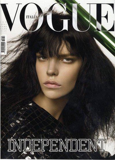 Vogue Italia October 2007 Model: Meghan Collison Photographer: Steven Meisel