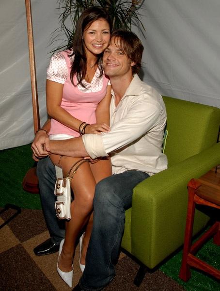 Jared Padalecki and Sandra McCoy at the 2007 Teen Choice Awards