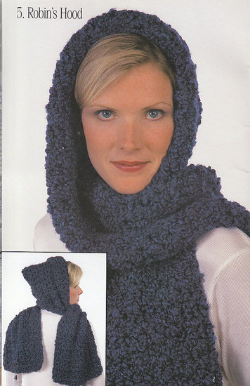 Hooded Scarf Knitting Pattern For Beginners : CROCHET HOOD PATTERN SCARF - Crochet Club