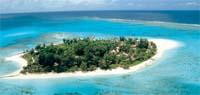 aerial view of managaha island