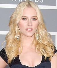 Long Curly Golden Blonde