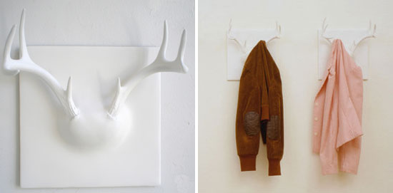 Love it or hate it erich ginder ghost antler coat rack for Ghost antler coat rack