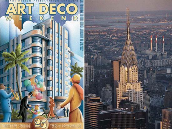 into the 1930s  art deco
