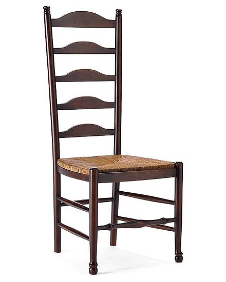 Ladderback chair popsugar home Ladder back chairs