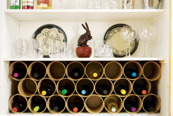 make your own wine rack plans