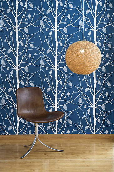 Post a picture of the ferm wallpaper that's your choice for your wall.