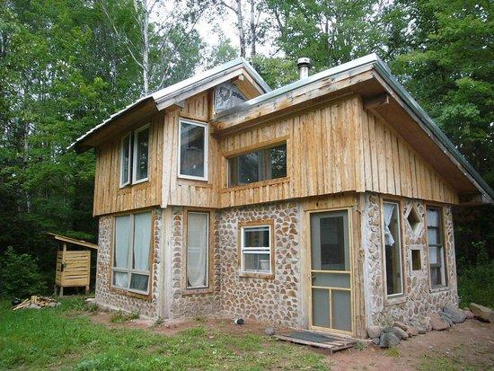 Home Made A Cheap And Green Handbuilt House Popsugar Home