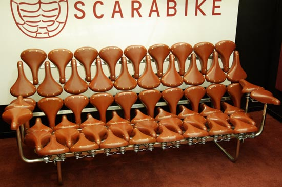 weird furniture bike seat sofa popsugar home