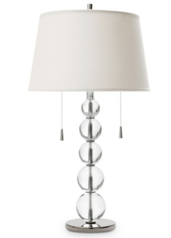 Steal Of The Day Jcpenney Crystal Ball Lamp Popsugar Home