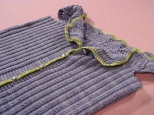 Knitwear Corset detail