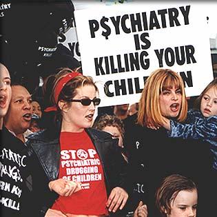 CCHR protest