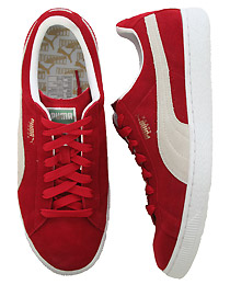Ribbon Red Suede Sneaker By PUMA ($33.95)