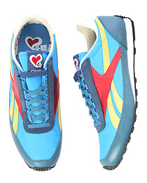 The Travel Trainer in Blue and Multi By Reebok ($58.95)
