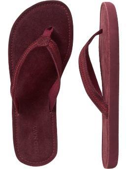 Suede Flip Flops- $6.25