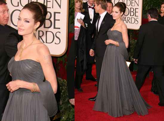 The Golden Globes Red Carpet: Angelina Jolie. Love It. Hate It. Undecided