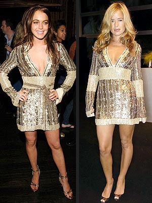 Lindsay Lohan vs. Jade Jagger