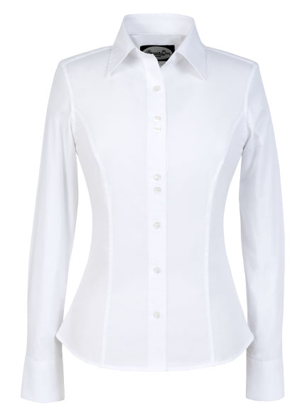 Amazing NonIron TailoredFit ShortSleeve Dress ShirtWhite