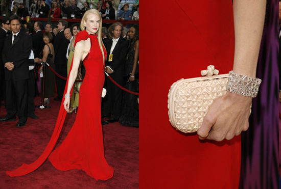 To get Nicole's red carpet look, read more