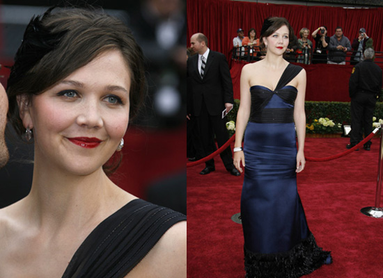 how to wear hair with one shoulder. Her one shoulder gown by