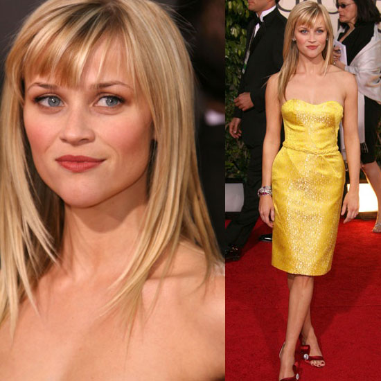 The Golden Globes Red Carpet: Reese Witherspoon. Love It. Hate It. Undecided