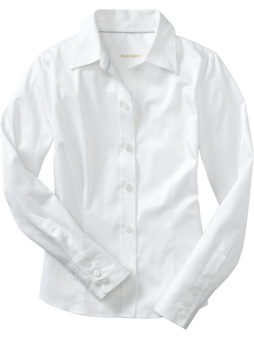 All White Button Down Shirt | Is Shirt