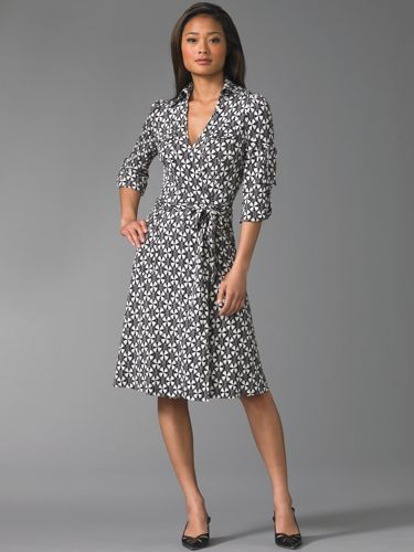 Dvf Wrap Dress On Sale The Look For Less DVF Wrap