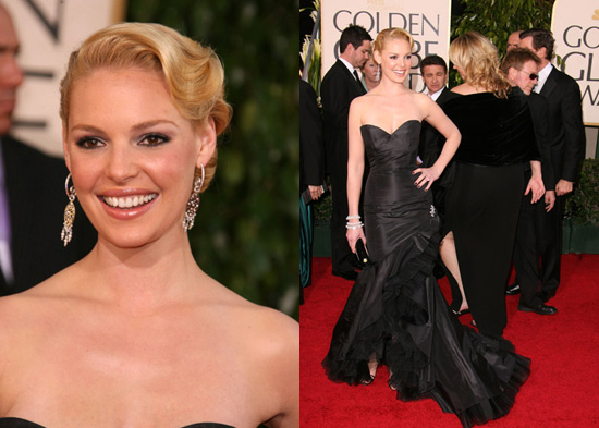 The Golden Globes Red Carpet: Katherine Heigl. Love It. Hate It. Undecided