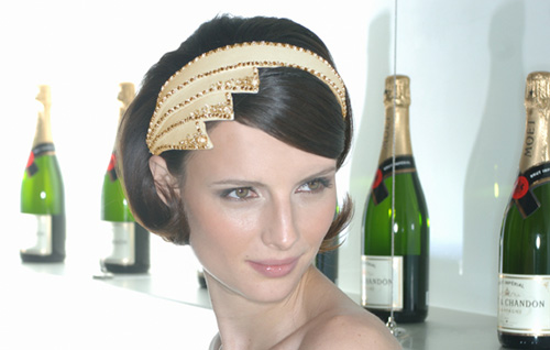Simply Fab: Temperley London for Mot & Chandon Tiara | Moet & Chandon, Simply Fab, Temperley | FabSugar - Fashion & Style. :  black temperley london hair band hair accessory