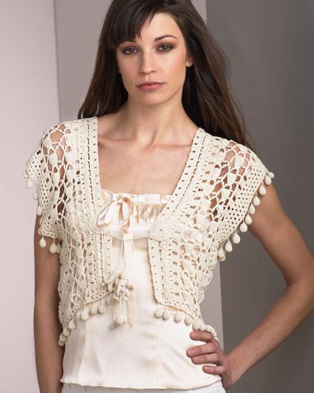 Moda Crochet Patterns : Para ser bem sincera ... como E de meu feitio ... eu achei as duas ...