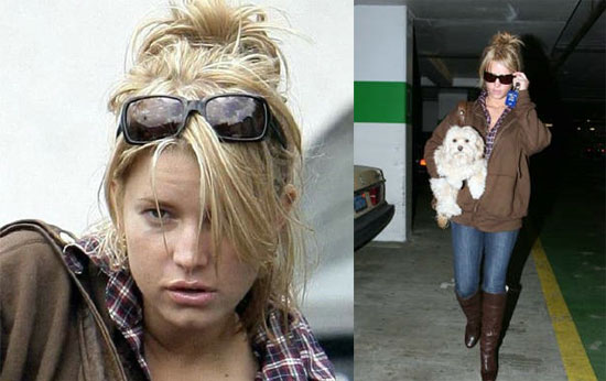 jessicas simpsons puppy. Jessica Simpson as part of