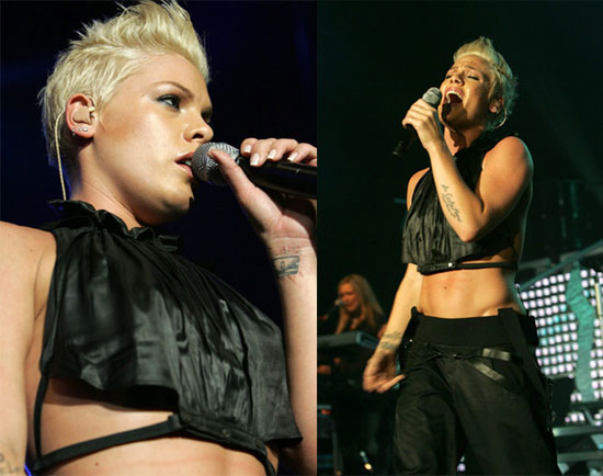 But now Pink has taken to