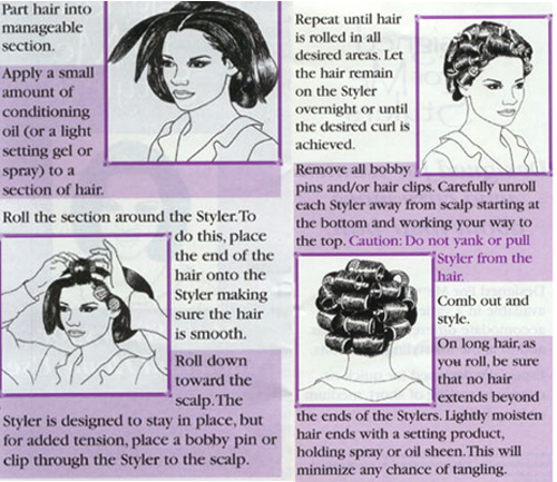 How to Curl your Hair? Old-School Beauty, Part III: Hair Rollers