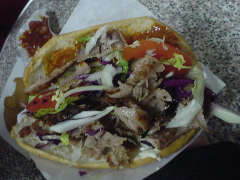 This is a fatty double kebap, Dayuuum!!