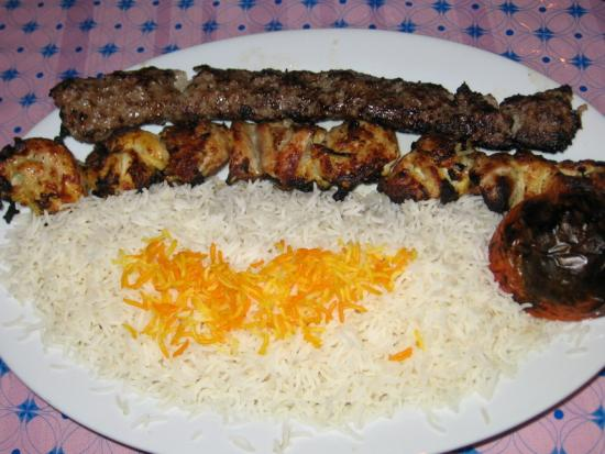 Kebab with Rice
