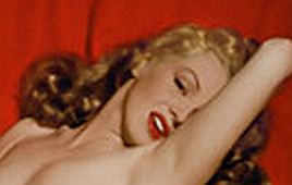 Redheaded Marilyn.  A snip-it from her risque' nude photo she shot when she was young with photog Tom Kelley.  There's a story that goes along with this but I'll elaborate later!  Poll on!