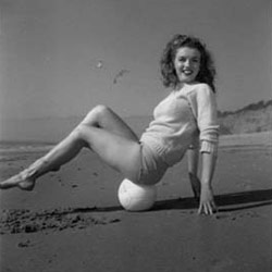 """In her younger days, Marilyn was considered a """"tomboy"""" because she liked to run around and compete with the boys."""