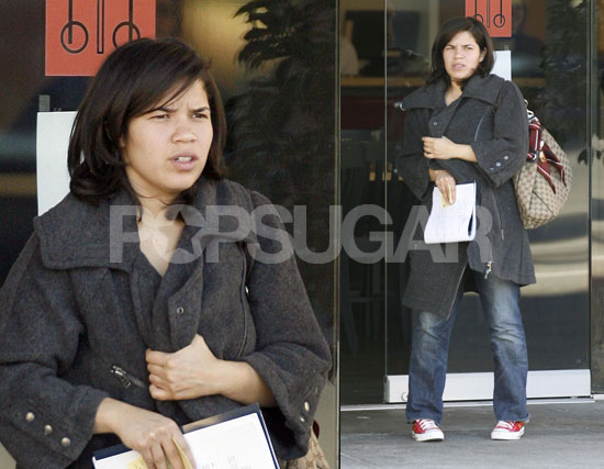 america ferrera haircut. dresses America Ferrera looked
