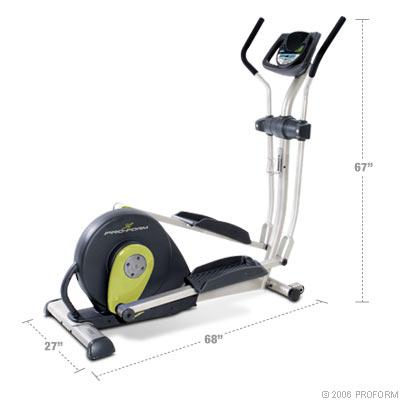 small elliptical exercise machine