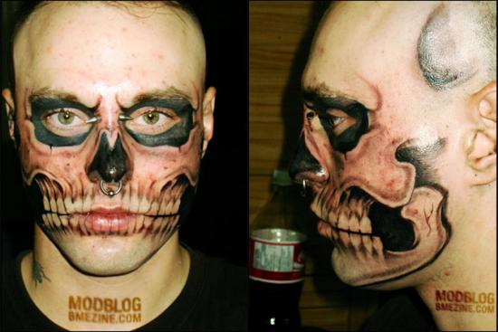 skull head tattoos. tattoo a skull