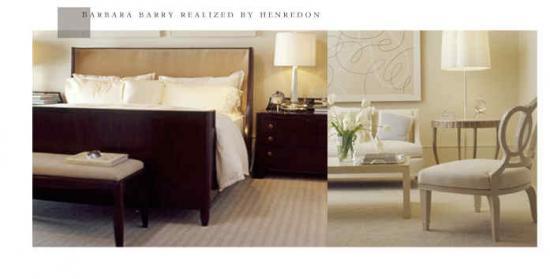Barbara barry henredon furniture bar furniture for Barbara barry bedroom furniture
