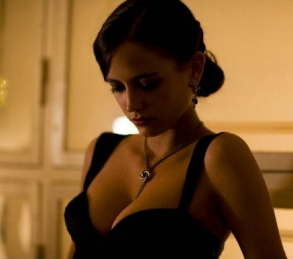 Eva Green Red Dress Casino Royale pic