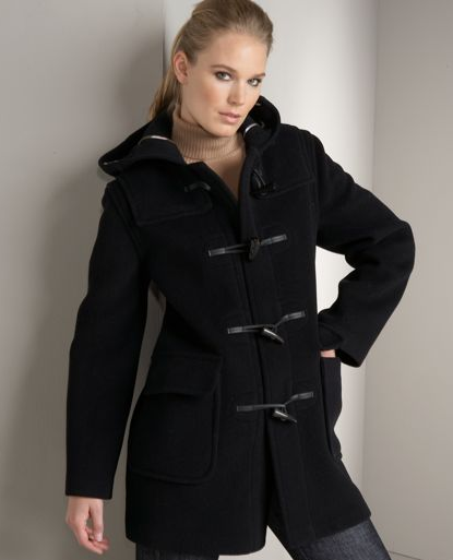The Look For Less: Burberry Minstead Hooded Duffle Coat | POPSUGAR ...