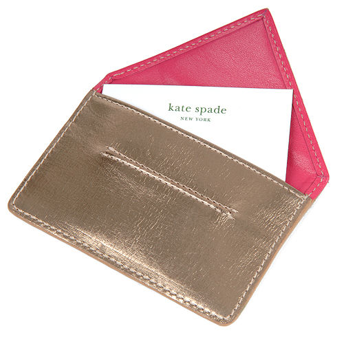 Chic business card cases popsugar fashion for Chic business card holder