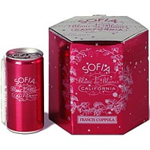Happy Hour: Sofia Blanc de Blanc | 2007 Oscars, blanc de blanc, happy hour | yumsugar - Food, Drink, & Entertaining. :  pink sofia champagne canned