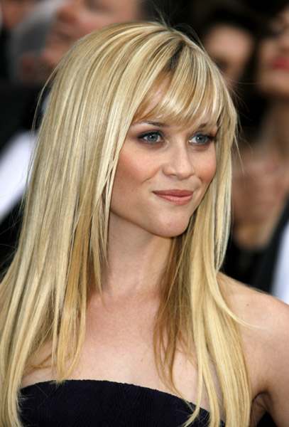 Celebrity Hairstyles With Side Bangs