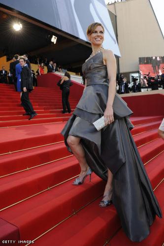 Hilary Swank Versace
