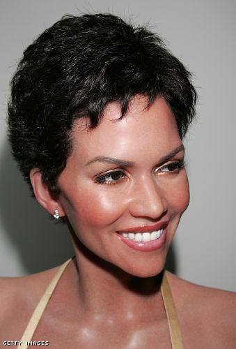 halle berry short hair. Halle Berry is currently